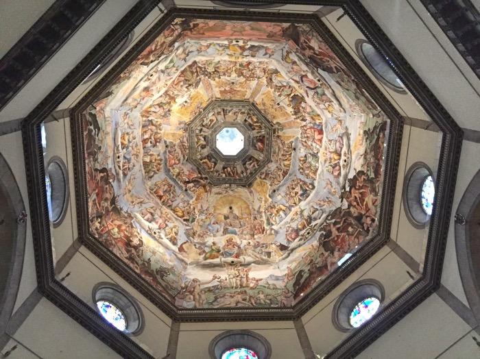 affreschi cupola Brunelleschi