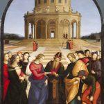 sposalizio della Vergine di Raffaello