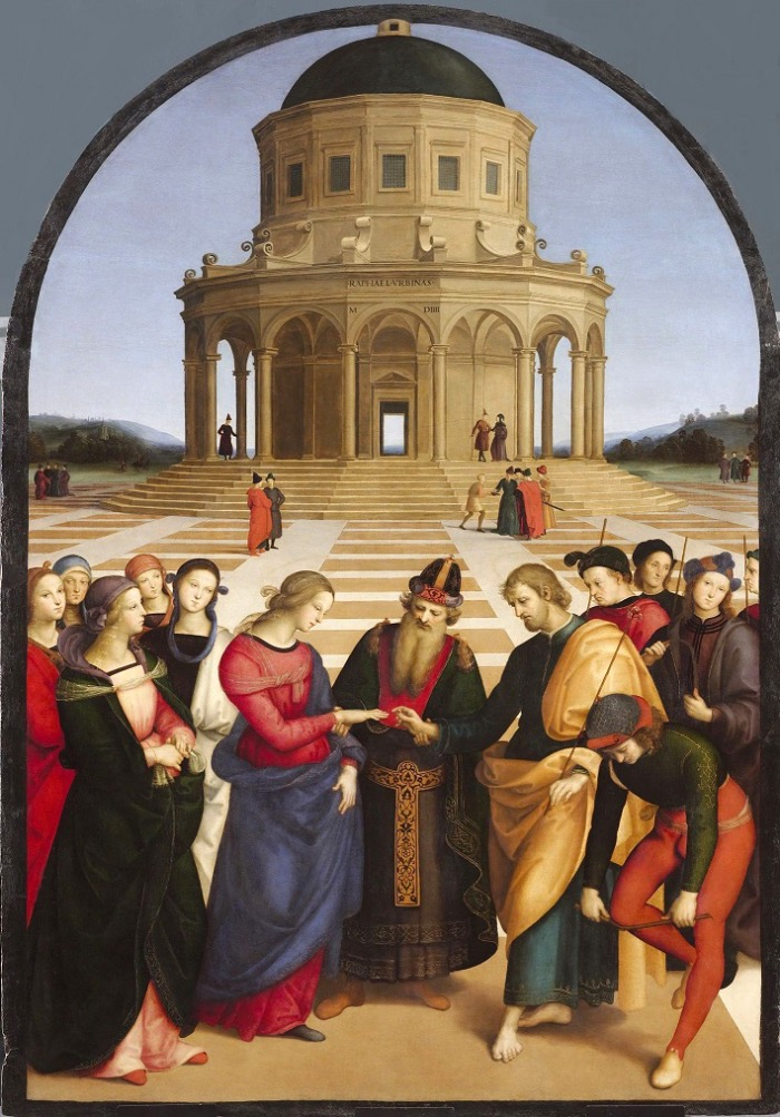 Marriage of the Virgin by Raphael