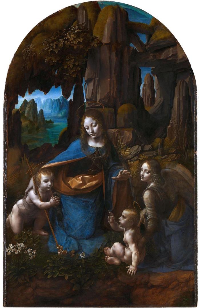 Leonardo da Vinci | Vergine delle Rocce