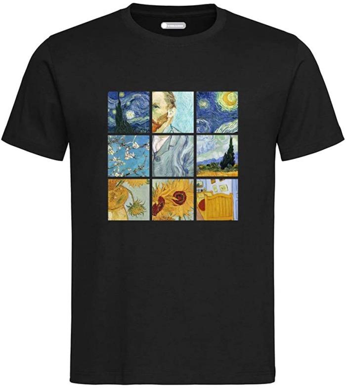 t-shirt van gogh