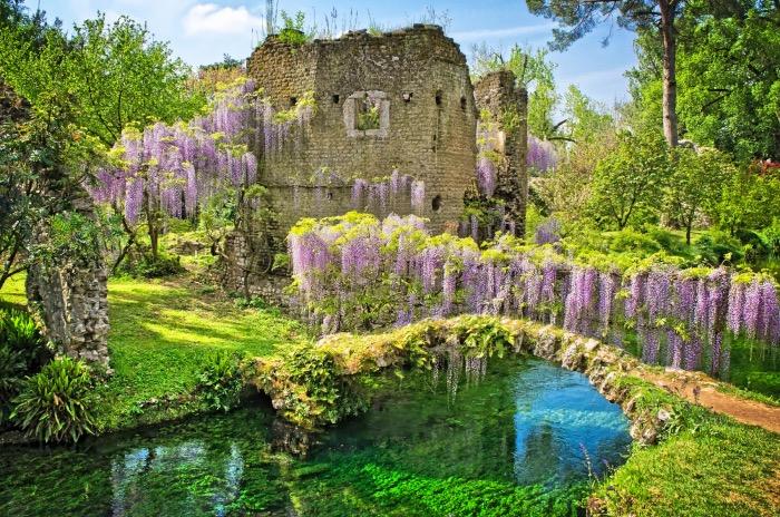 Giardini in Italia | Giardino di Ninfa