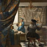 Vermeer | allegoria della pittura