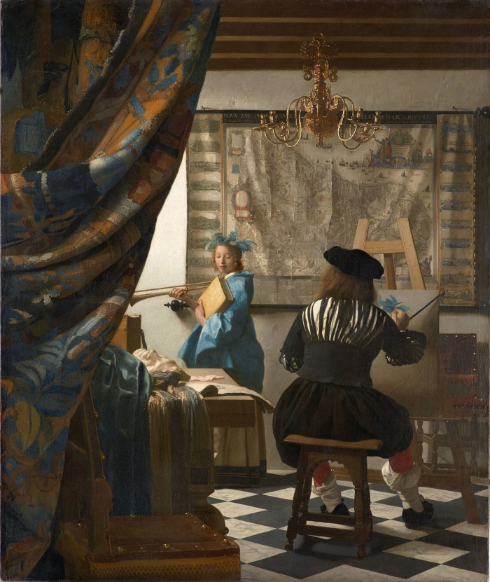 Vermeer | allegory of painting