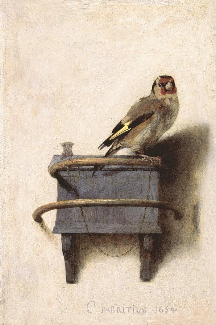 Carel Fabritius | goldfinch