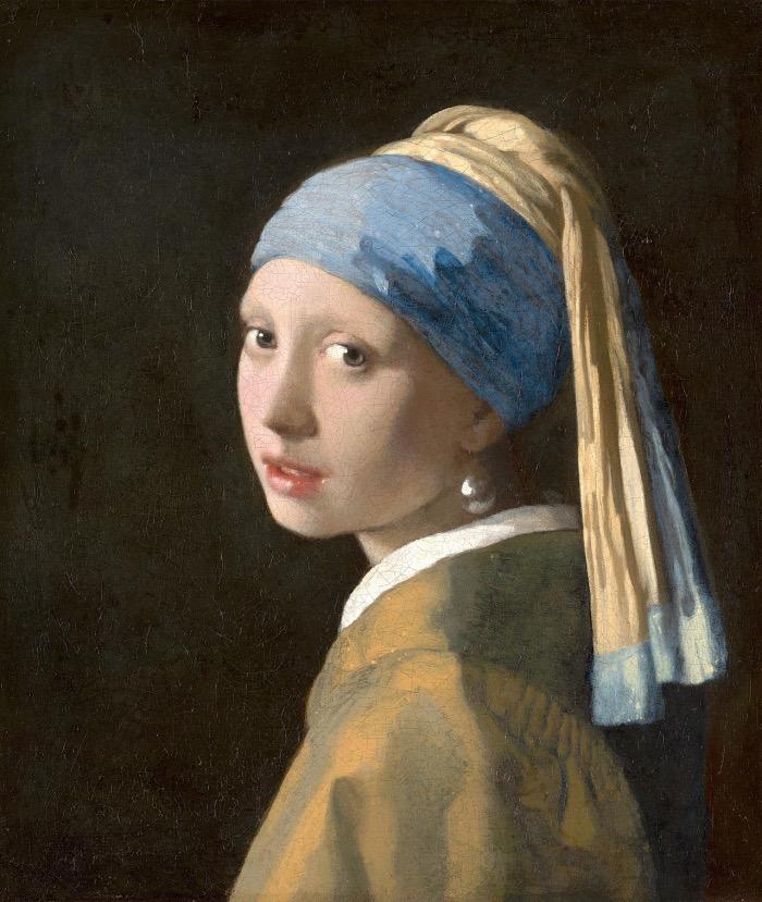 Vermeer | Ragazza con l'orecchino di perla