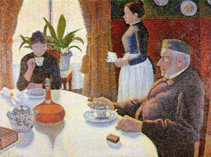 Paul Signac | breakfast | dining room