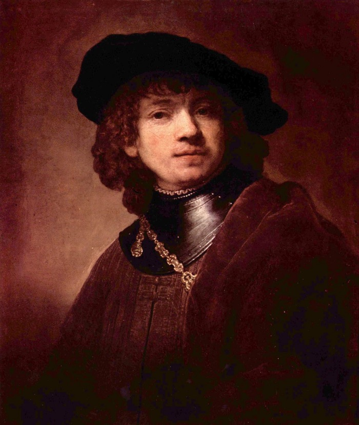 Self-Portrait as a Young Man | Rembrandt