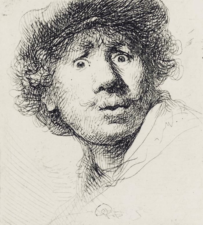 Self-Portrait Rembrandt