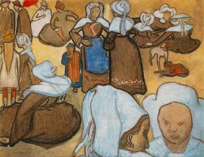 Donne Bretoni | Van Gogh