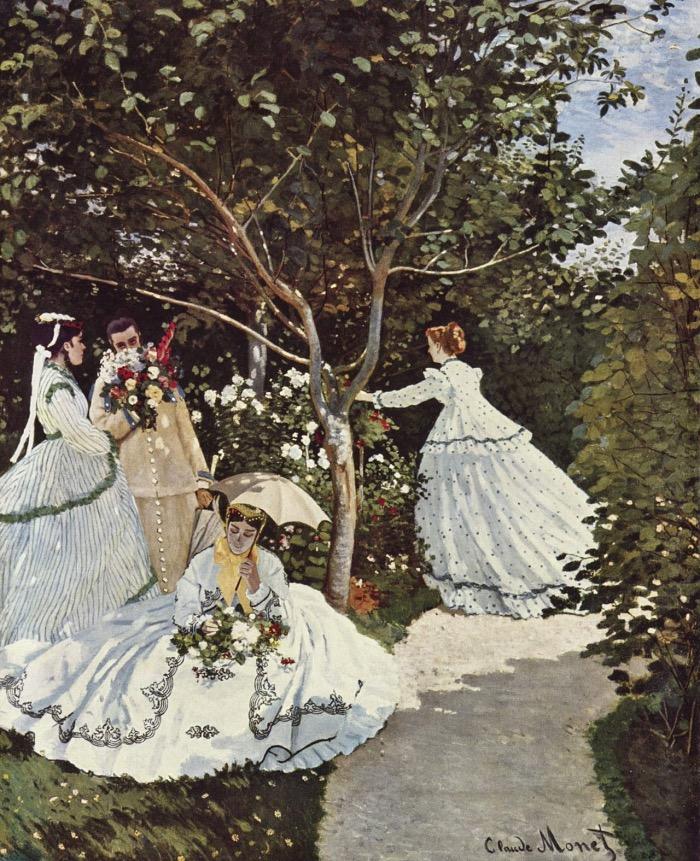 Women in the Garden| Monet