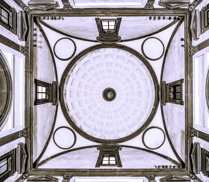 cappelle medicee | sagrestia nuova cupola