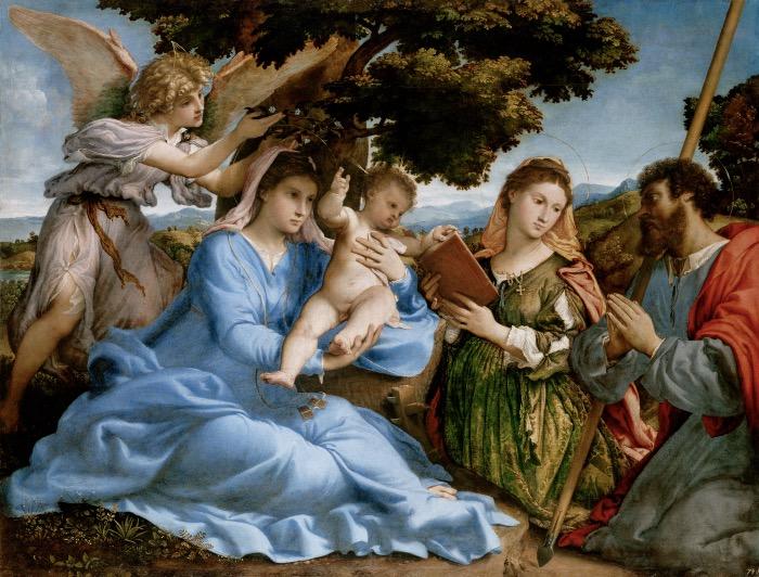 Lorenzo Lotto | Sacra Conversazione