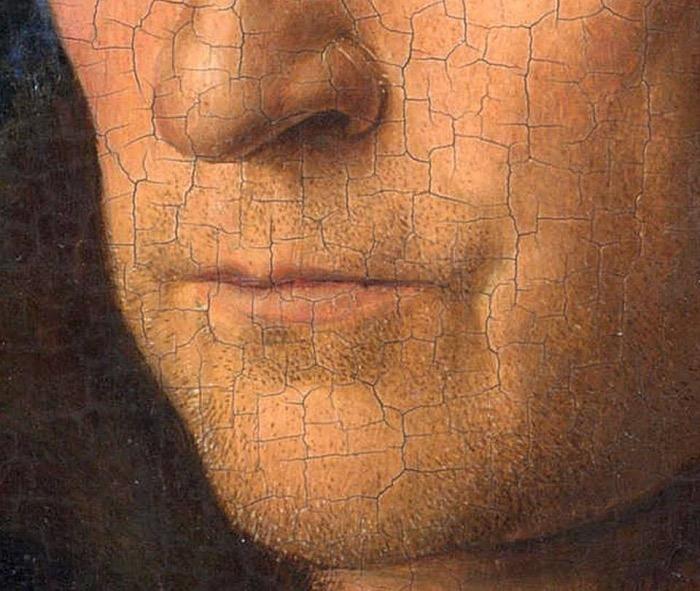 Jan van Eyck | uomo con turbante rosso