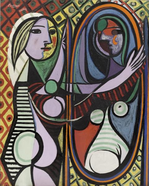 Pablo Picasso | Ragazza di fronte allo specchio