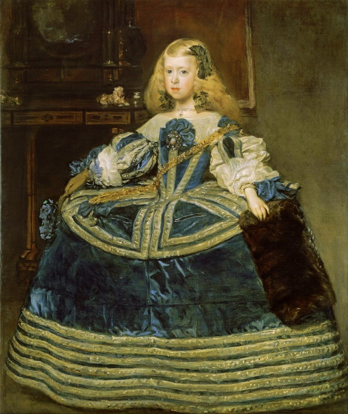 Infanta Margarita Teresa in a Blue Dress | Velazquez