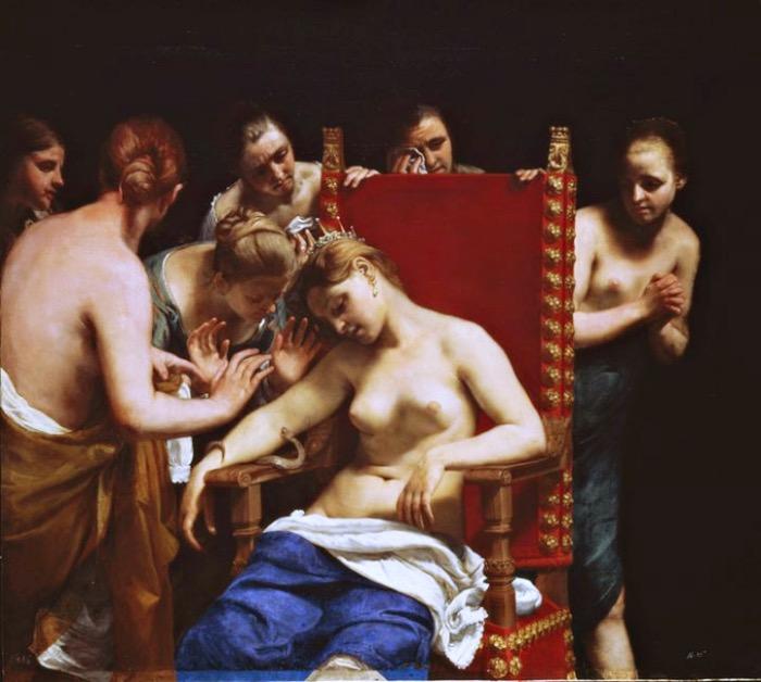 Morte Cleopatra   Guido Cagnacci