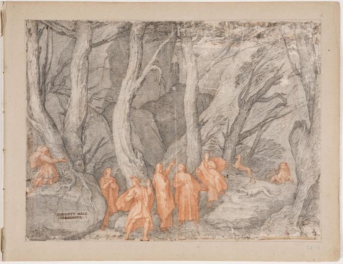 Federico Zuccari | Inferno Dante | La Selva Oscura