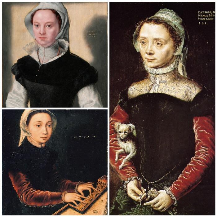 Catharina van Hemessen | works