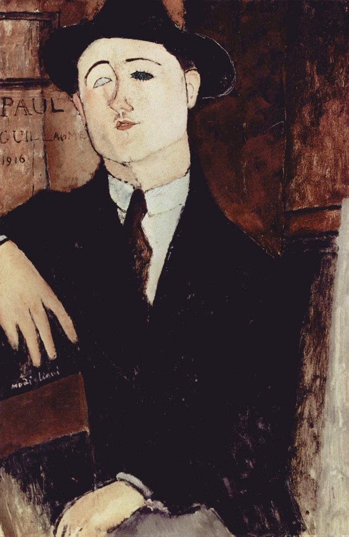 Portrait of Paul Guillaume | Amedeo Modigliani