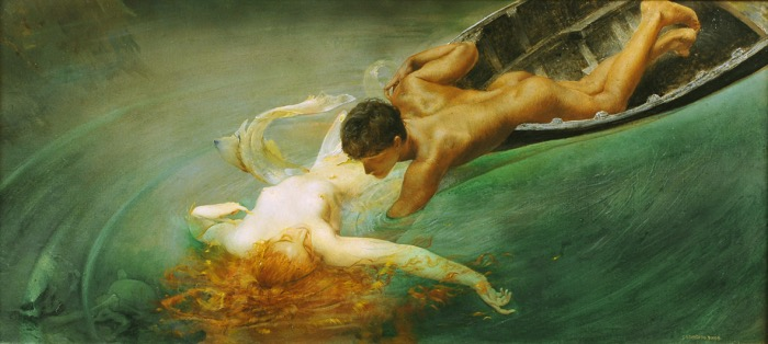 Giulio Aristide Sartorio | The Siren