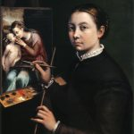 Sofonisba Anguissola | autoritratto