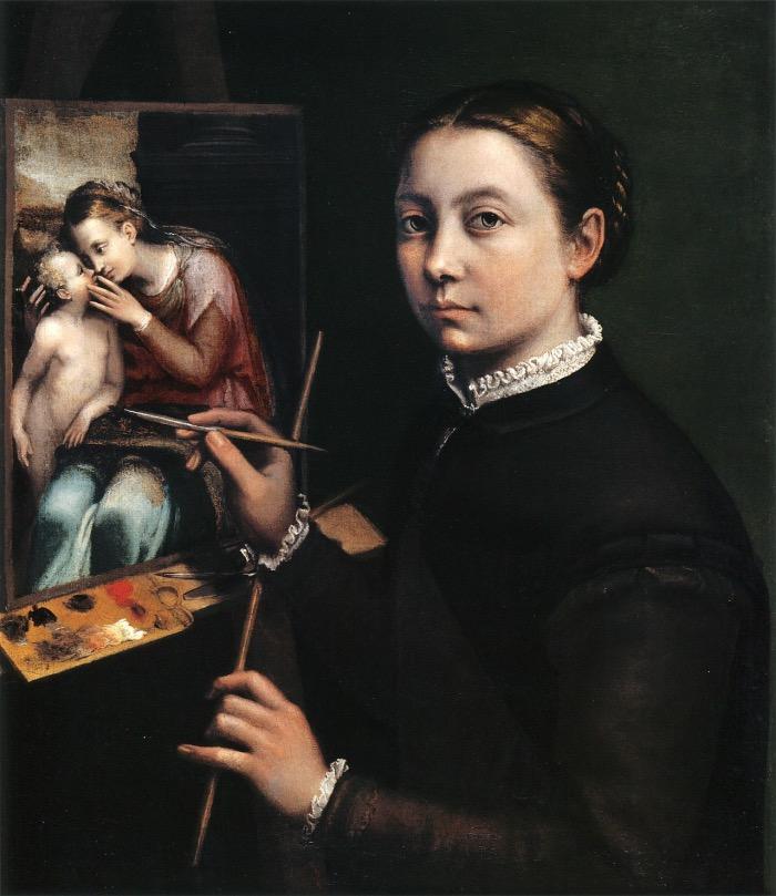Sofonisba Anguissola | Self-Portrait