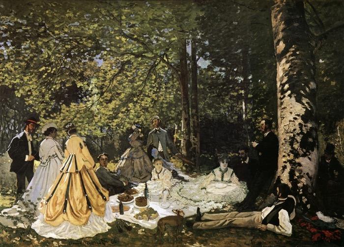 Monet | Luncheon on the Grass