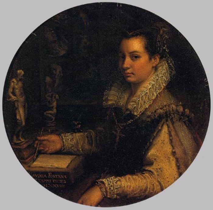 Lavinia Fontana | autoritratto