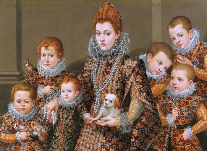 Lavinia Fontana | Ritratto della famiglia Maselli