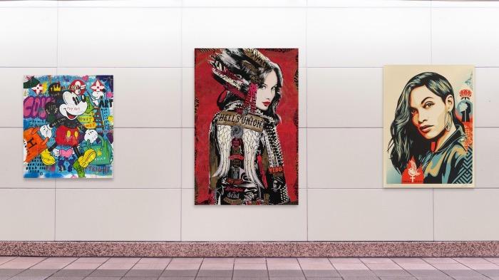 galleria d'arte | Strip gallery