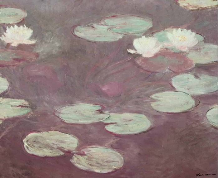Monet | pink water lilies
