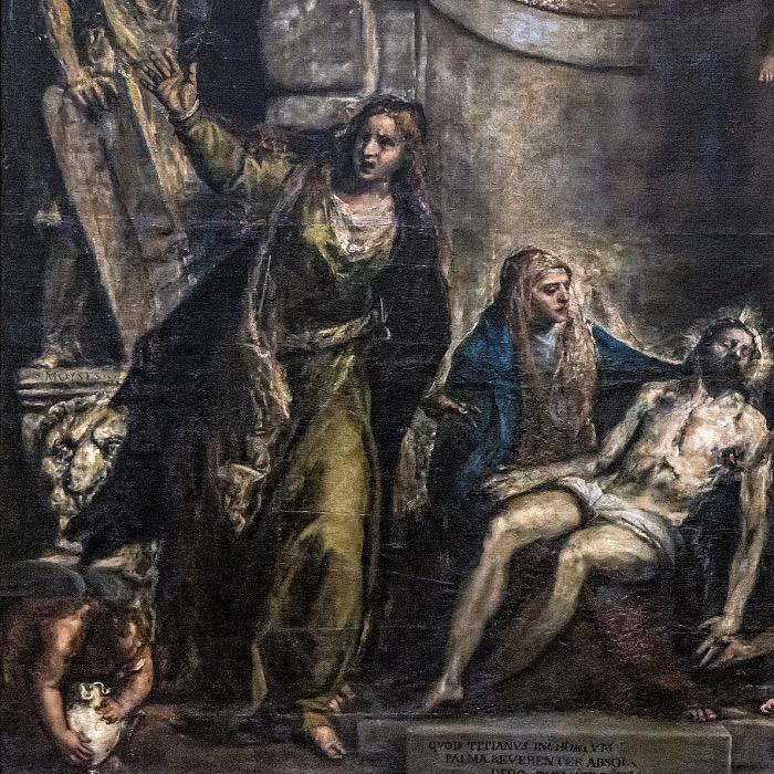 Pietà |Tiziano opere