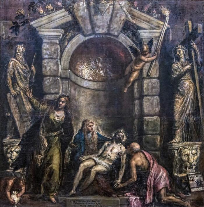 Tiziano Vecellio | La Pietà