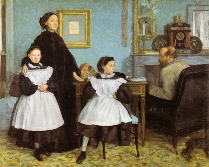 Edgar Degas | The Bellelli family