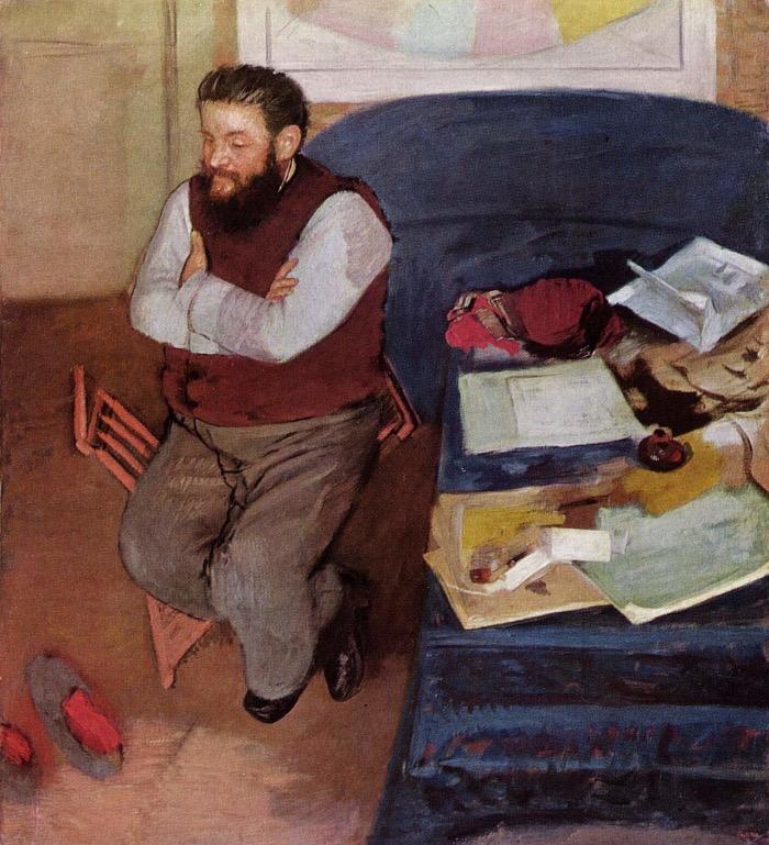 Degas | Diego Martelli