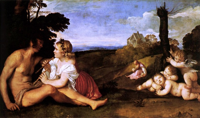 Tiziano | Three ages of man