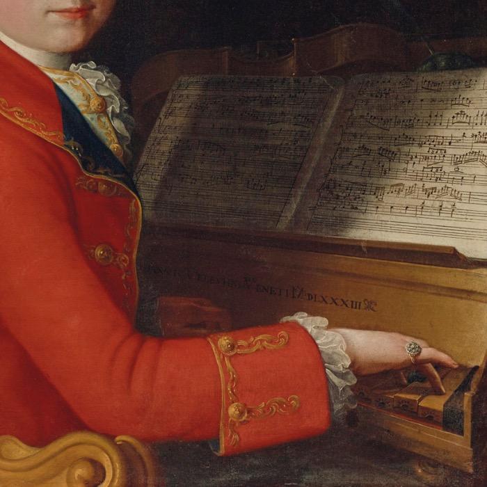 Mozart ritratto |dettaglio