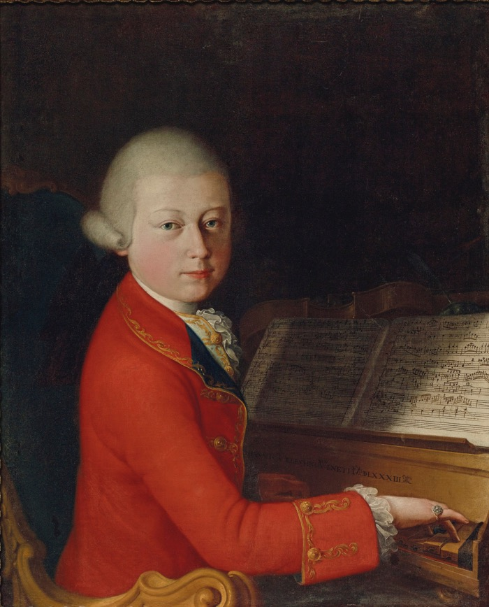 Mozart bambino | ritratto