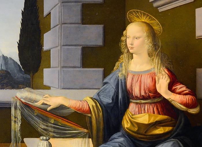 Leonardo da Vinci | Annunciazione