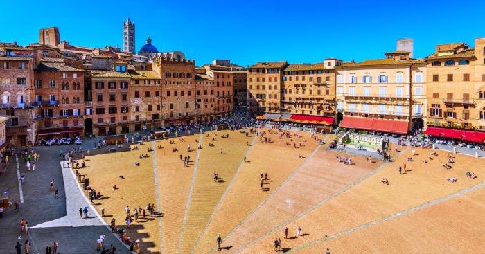 Siena | piazza del Campo