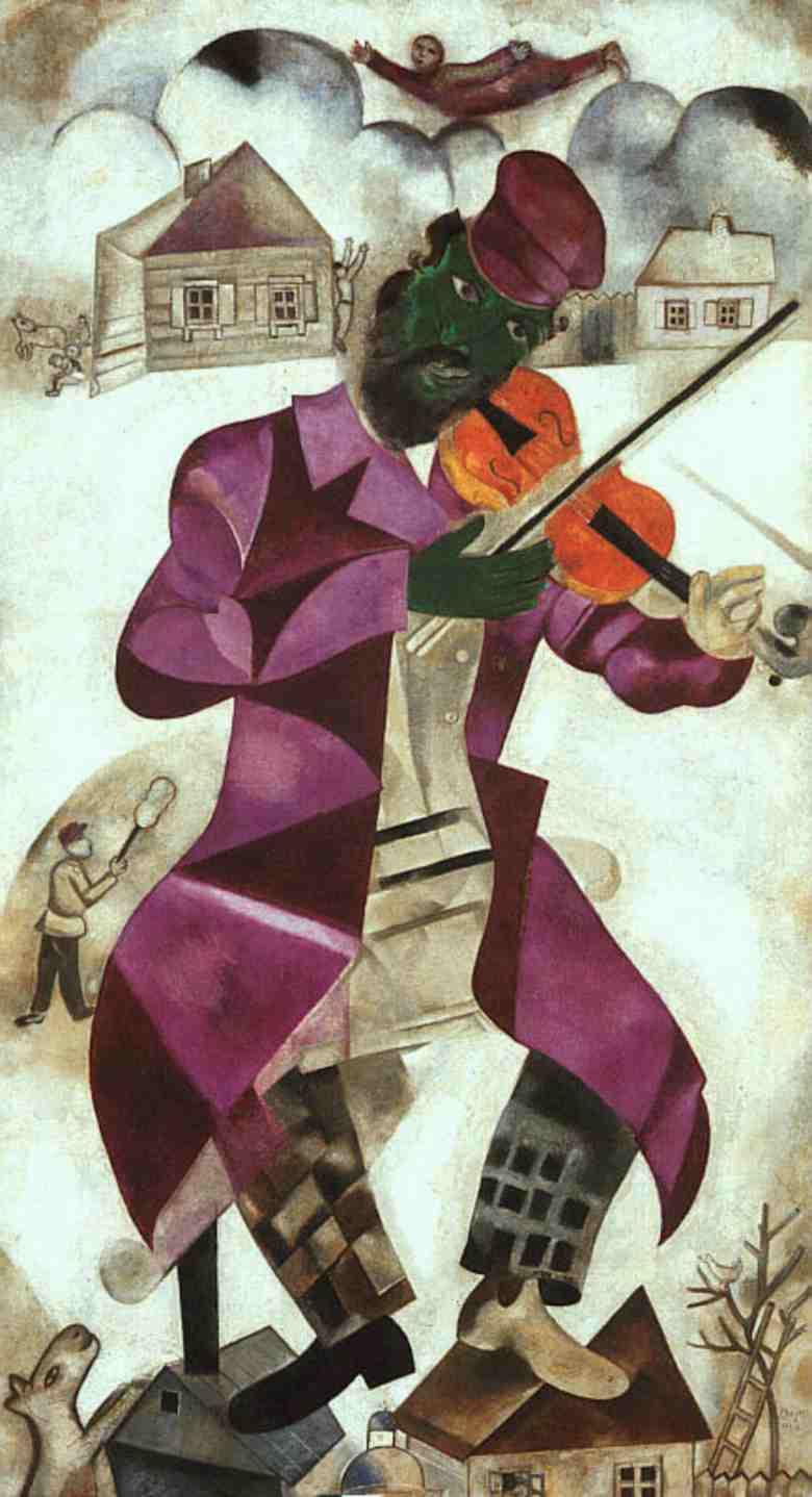 Green Violinist | Chagall