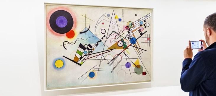 Composition 8| Guggenheim Museum