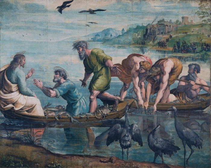 Miraculous Draught of Fishes   Raphael