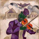 img violinista verde di Chagall