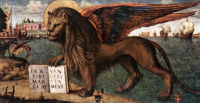 Vittore Carpaccio   Leone di San Marco