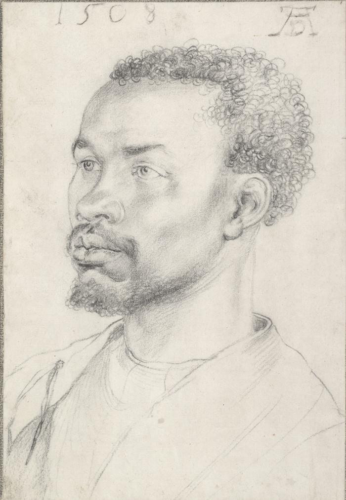 Albrecht Dürer | ritratto di uomo africano