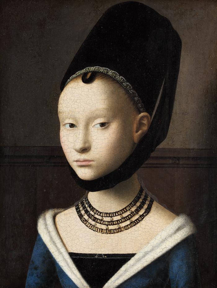 Petrus Christus | Portrait of a Young Woman