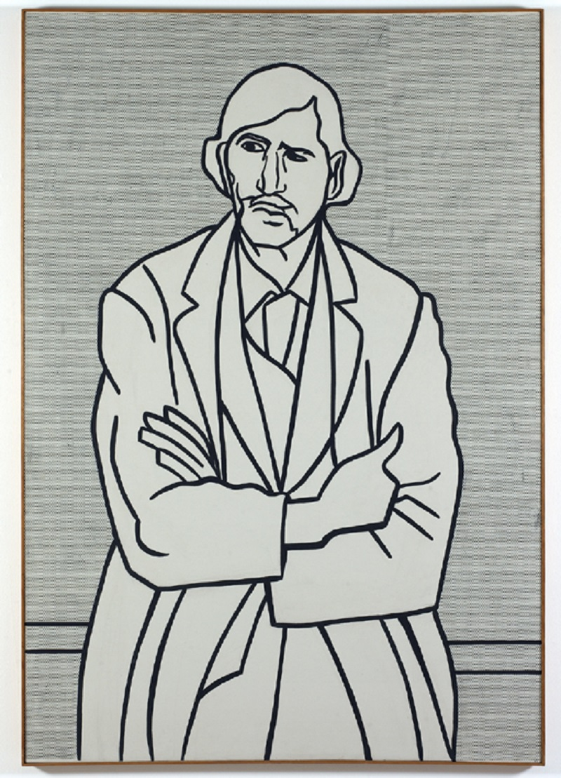 Roy Lichtenstein (New York, 1923- 1997)  Man with Folded Arms, 1962 Olio su tela, 178,44 x 122,56 cm Los Angeles, The Museum of Contemporary Art, The Panza Collection © Estate of Roy Lichtenstein, photo credit Brian Forrest