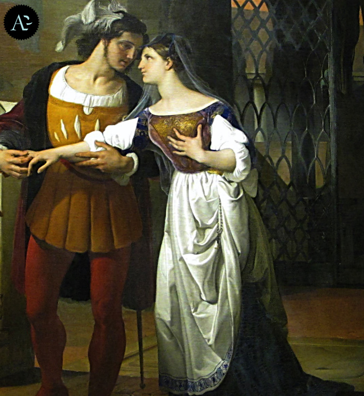 Giulietta e Romeo | Francesco Hayez | mostre Milano